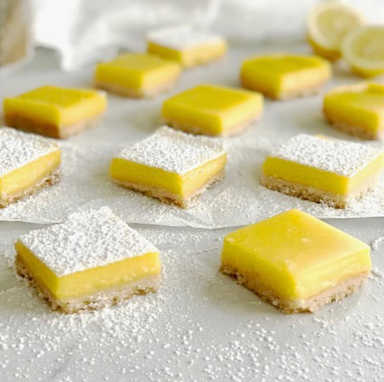 CBD Lemon Bars
