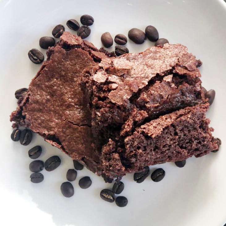 Vegan Espresso Brownies