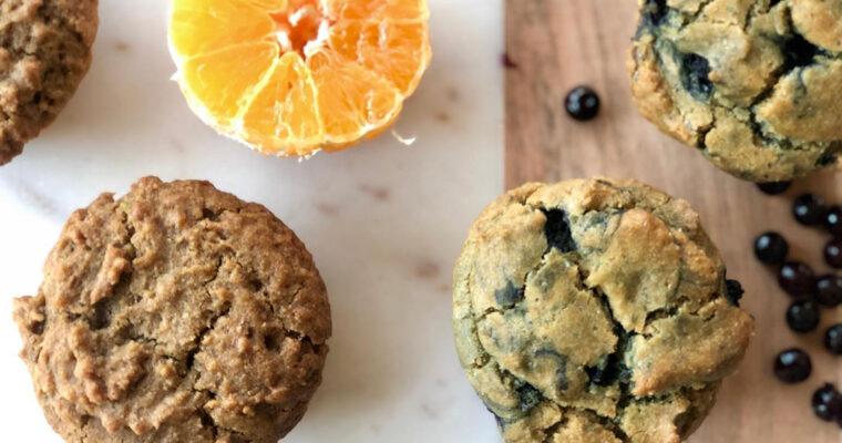 Orange Camu Camu Muffins Vegan